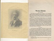 Hessen Kassel Chemie Geschichte Wilhelm Körner Gedenkschrift 1926
