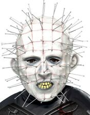 Halloween Film Fancy Dress Licensed Hellraiser Pinhead Full Head Mask by Smiffys