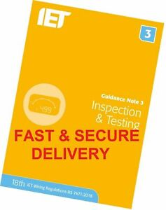 Guidance Note 3 Inspection & Testing Electrical Regulations Blue