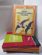 POEMAS Y CANTARES DE AMERICA Y EL MUNDO Spanish Literature Libros EN Espanol