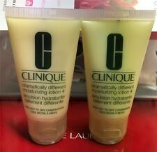 X2 CLINIQUE Dramatically Different Moisturizing Lotion+ Tube Total 2oz/60ml