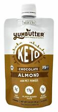 Keto Nut Butter, Chocolate Almond 3.4oz pouch, 4 pack