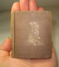 1850 INDIANS OF AMERICA Rare OLD WEST Indian WAR Weapons HUNTING Miniature Book