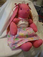 Ooak Soft Pink Bunny Doll 27""