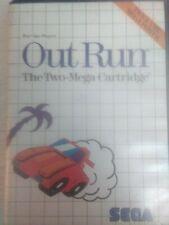 OUT RUN - MASTER SYSTEM 2 - PAL ESPAÑA - SEGA II - OUTRUN