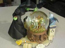 Wizard of Oz San Francisco Music Crystal Ball Water Globe Poppy Field.