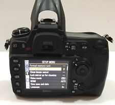 Nikon D300S - Camera Body Only with Charger and a Battery #D1016