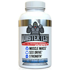 Angry Supplements Testosterone Booster Monster Test 6000mg Pure Power (120 Tab)