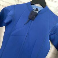 Volcom Chesticle Jacket Front Zip Wetsuit Top 2mm L/S Youth Boys Size 12(Large)