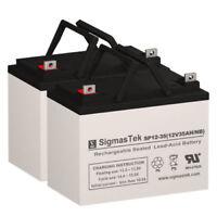 Tripp Lite Smart 2200XL Replacement UPS Battery Set By SigmasTek - 12V 35AH NB