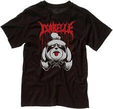 Isabelle Heavy Metal Cute Animal Crossing T-Shirt Unisex Black T Shirt
