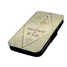 Harry Potter inspiré Livre designs imprimés en faux cuir téléphone à rabat Housse