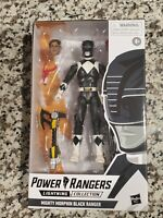 Mighty Morphin Power Rangers Lightning Collection - Black Ranger - Wave 6