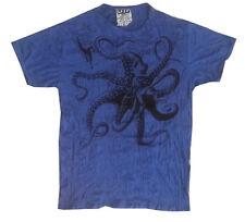 Men t shirt short sleeve Yoga Octopus Sea Nature Ocean Retro Hippie Sure  XL new