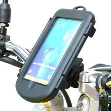 Waterproof Motorcycle Bike Handlebar Mount Holder for Galaxy S6 Edge + Plus