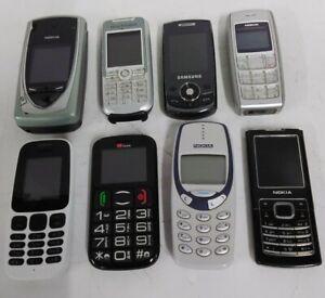 Joblot Of 8 Mobile Phones