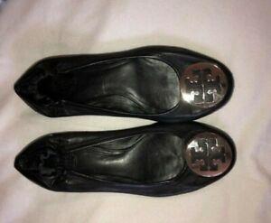 tory burch flat shoes size 9.5