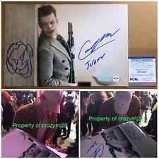 Cameron Monaghan Signed Jerome Valeska Gotham The Joker Sketch Autograph PSA COA