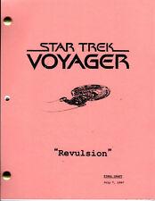 Star Trek Script - Voyager - Revulsion