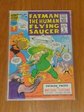 FATMAN THE HUMAN FLYING SAUCER #2 FN- (5.5) LIGHTNING COMICS GIANT JUNE 1967