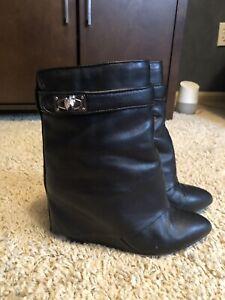 givenchy shark lock boots 37