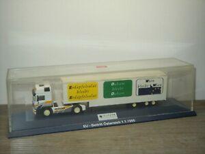 MAN Truck & Trailer EU Beitritt Oosterreich 1995 - Herpa 1:87 in Box *51761
