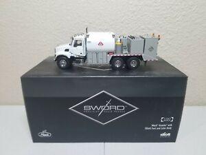 Mack Granite Elliott Fuel & Lube Truck - White Sword 1:50 Scale #SW2100-WW New!