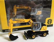 1/87 PALA CARGADORA NEW HOLLAND DIECAST Wheeled Excavator WE 170 Hobby & Work