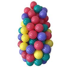 100 Colores Bolas Para Baño de 7cm Babybaelle Plásticas Bebé Juego