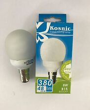Kosnic 9w Sbc/b15 Energy Saving Golf Ball Light Bulb Very Warm White