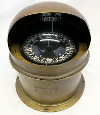 E.S. Ritchie & Sons Brass Binnacle Naval Navigational Compass Pembroke Ma