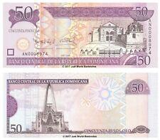 Dominican Republic 50 Pesos 2006 P-176a Low Serial Banknotes UNC