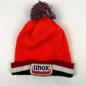 Unox Gold Winter Beanie Hat Netherlands Unisex Official Famous New Year Tri
