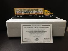 Matchbox Collectibles 1948 Harley-Davidson Panhead Tractor Trailer w/ COA