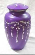Great Colors Purple Cremation Urn Peace Ashes Urn 220 Cubic Inches