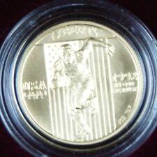 1992 $5 Gold Half Eagle Olympic BU Commemorative Coin Box COA OGP