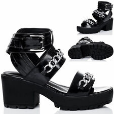 Unbranded Strappy Block Heel Shoes for Women