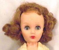 Ideal Fashion Doll 19in Vinyl Head Rooted Saran Hair 14R Mark Vintage 1950s