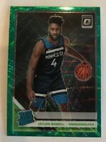 2019-20 Optic JAYLEN NOWELL Fanatics  Prizm Green Wave SP RC Rated Rookie