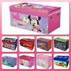 Storage Trunk Collapsible Kids Toy Disney Box Organizer Mickey Bedroom Furniture