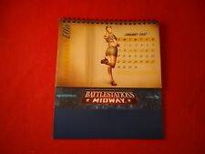 Battlestations Midway Pin-Up Calendar 12-Month 2007 Xbox 360 PC Promo *RARE*