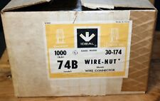 Ideal Electric B74 16 / 18 Gauge Wire Connector Nut Wirenut: 31-074 1000 PC