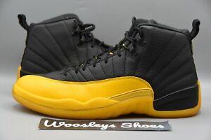 "Good Condition Nike Air Jordan 12 Retro ""University Gold"" (130690-070) Size 12"