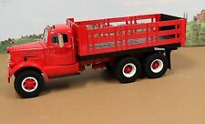 Fumby Street Motors 1957 White WC-22 Stake Truck 1:15 MIB Ltd Edition  All Red