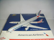 "Gemini Jets American Airlines AA B777-300ER 2010s New Color"" 1:400 First Release"