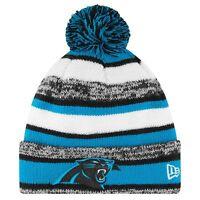 New Era CAROLINA PANTHERS NFL 2014 Sport Knit Sideline Beanie Stocking Pom Pom