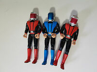 CAPTAIN SCARLET FIGURINES TOYS BLUE AND RED POSABLE AE GAP