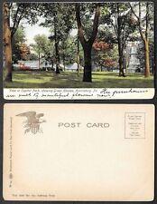 Old Pennsylvania Postcard - Harrisburg - Central Park Green Houses