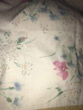 Pastel Floral Standard Pillowcase Flowers Craft Cutter Fabric