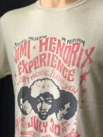 Jimi Hendrix Experience Concert Tour T Shirt Baton Rouge LA Vintage Classic Rock